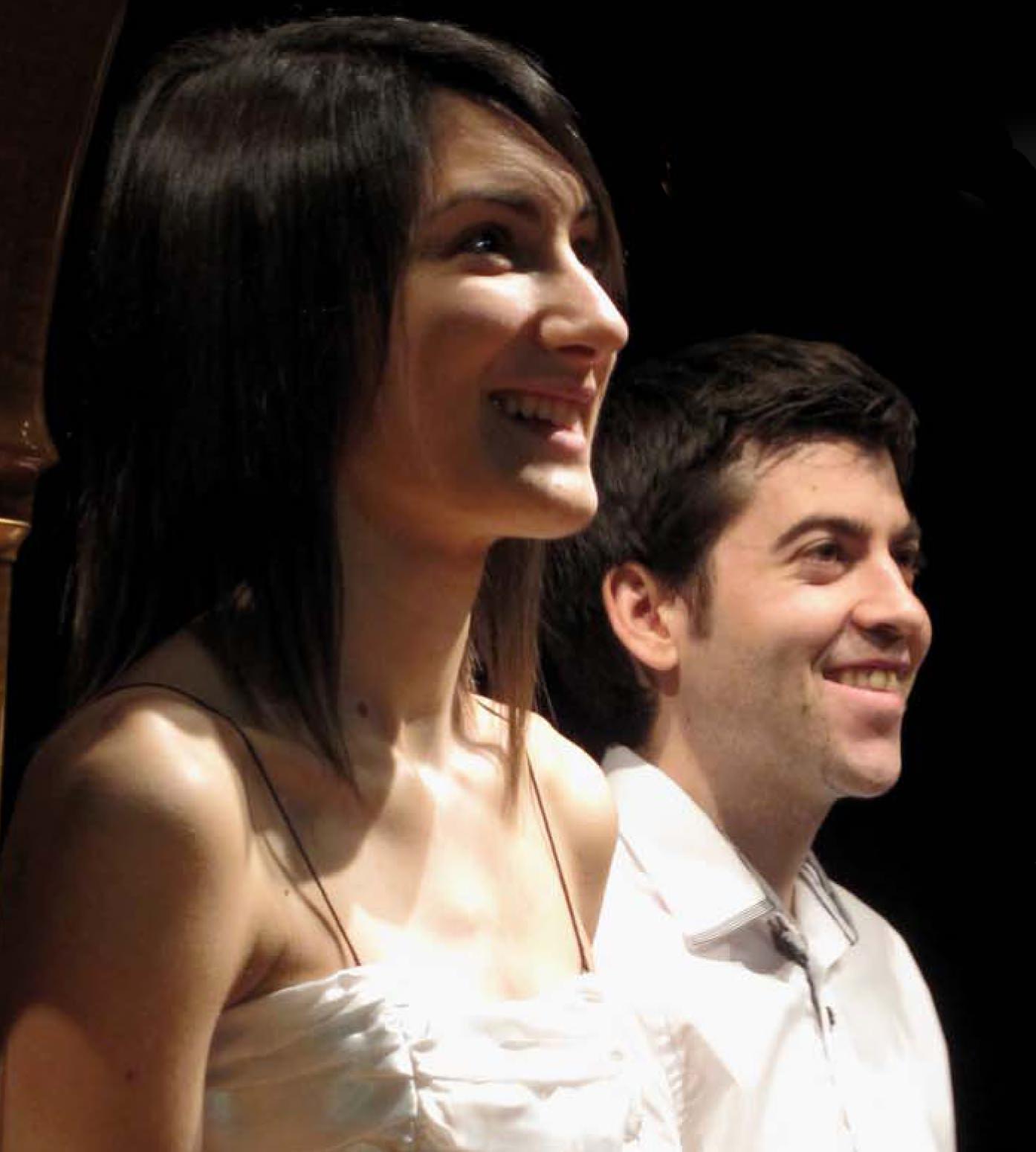 Esther Pinyol y Ferran Carceller
