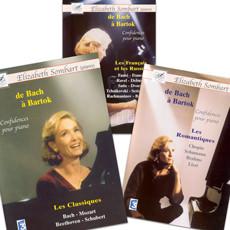Coffret confidences pour piano de Bach à Bartók