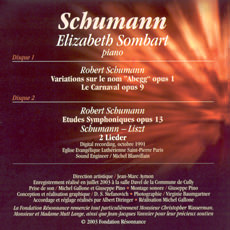 Robert Schumann: 2 CDs