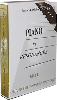 Piano et Résonances Op. 1, coffret des 8 cahiers
